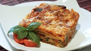 Vegetarian Lasagna Recipe - Mark's Cuisine #31