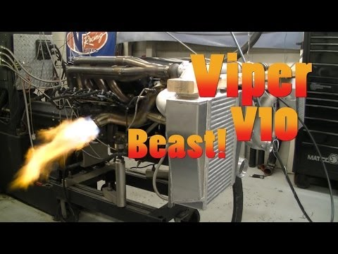 Dodge Viper V10 1200 HP Beast!  1969 Dodge Charger.  Nelson Racing Engines.  Chrysler. NRE TV
