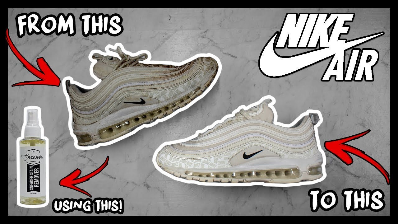 CLEANING FILTHY NIKE AIR MAX 97's TO LOOK BRAND NEW AGAIN!
