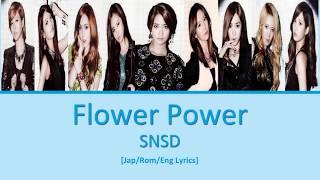 Gambar cover [Jap/Rom/Eng] SNSD - Flower Power Lyrics