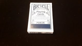 Bicycle seconds playing cards-deck review