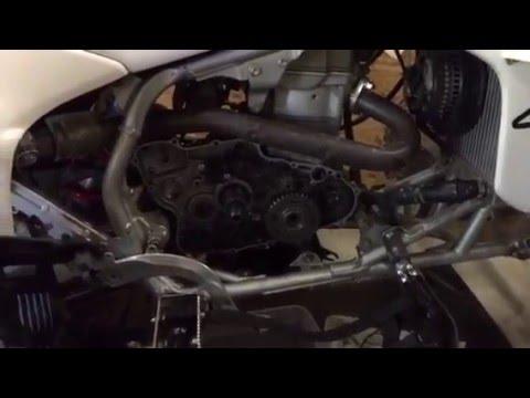 How To Fix Honda 450 R Starter Problem Clutch Repair Video