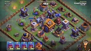 Sabır isteyen okçu barbar saldırıları!! - Clash of Clans inşaatçı üssü savaşları