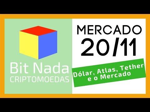 Mercado De Cripto! 20/11 Bitcoin 8.000 USD / Dólar / Atlas / Tether