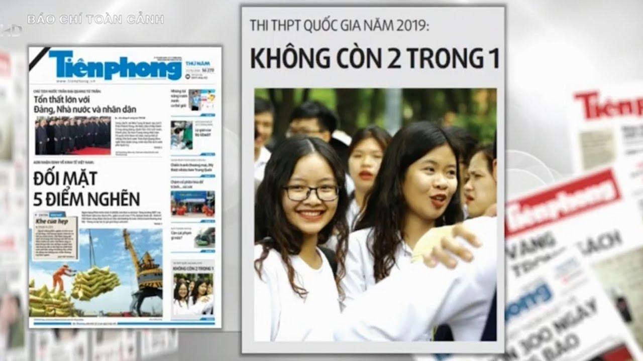 Thi THPT quốc gia năm 2019: Không còn 2 trong 1 | VTV24