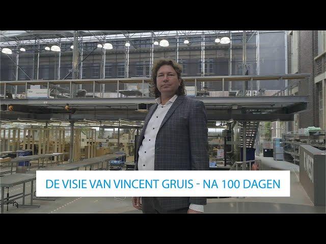 De visie van Vincent Gruis na 100 dagen voorzitterschap | Transitieteam Circulaire Bouweconomie
