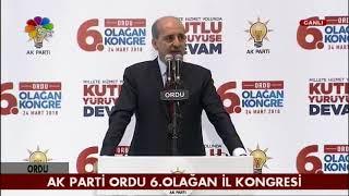 24/03/2018 AK PARTİ ORDU 6.OLAĞAN İL KONGRESİ