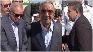 زكريا عزمي وطاهر أبو زيد في جنازة حكمدار القاهرة