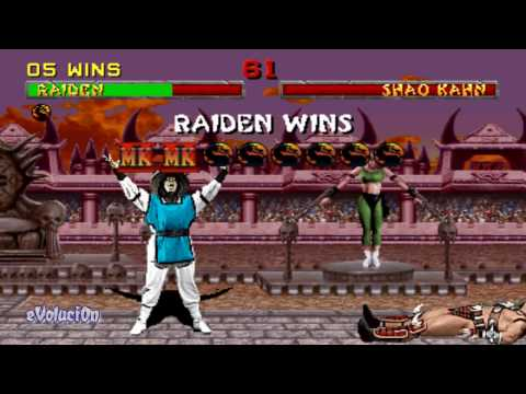 Mortal Kombat II (Arcade) Raiden Run-through (Part 2 of 2)