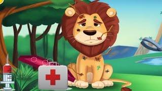 Доктор Вовкин лечит животных  игра для детей