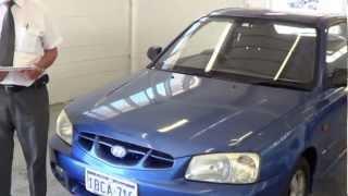 Hyundai accent 2002 gs auto