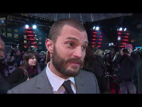 Fifty Shades Darker UK Premiere Interview - Jamie Dornan