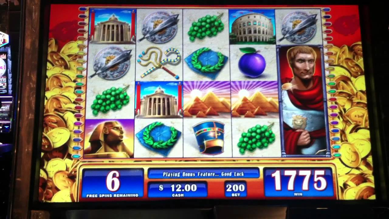 Free Slots Rome And Egypt