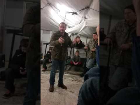 Corbin Allred's Inspirational speech