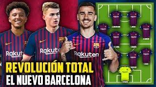 Así sera la PODEROSA Alineación del Barcelona para la PRÓXIMA TEMPORADA
