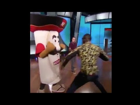 Carmine - Boxer Punches Mascot, Breaking The Jaw Of Person Inside Costume!