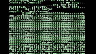 C64 SID-Chip programmer took a hit of his bong (Music by Fanta)