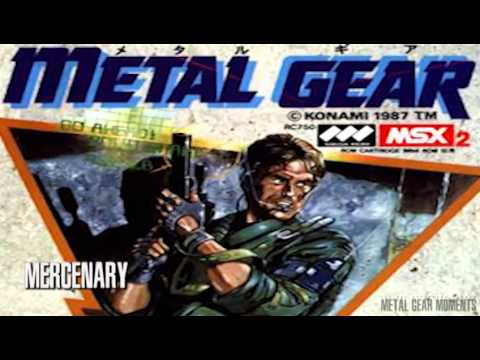 Metal Gear 1987 MSX Complete soundtrack Full YouTube