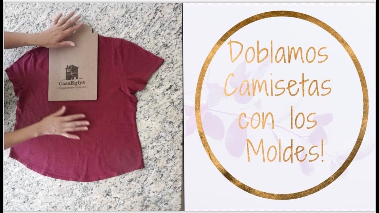 Doblamos Camisetas con los Moldes - 2020!