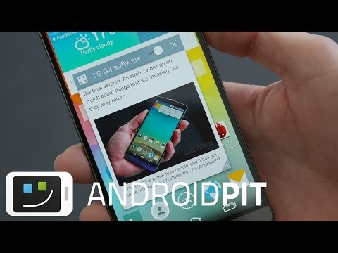 LG G3 software features - Android 4.4.2, Optimus UI [REVIEW]