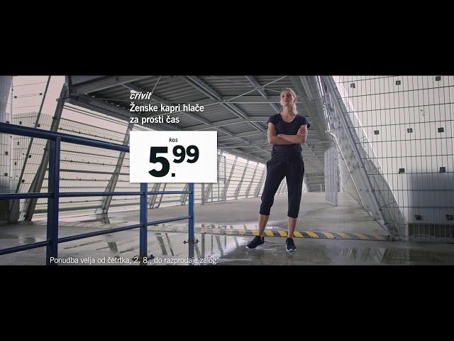 Športna in udobna oblačila - od 2. avgusta