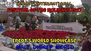 Epcot's International Festival of the Holidays 2017