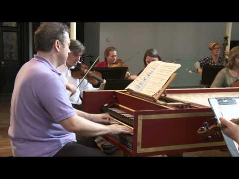 JS Bach Concerto in D minor for harpsichord - Allegro