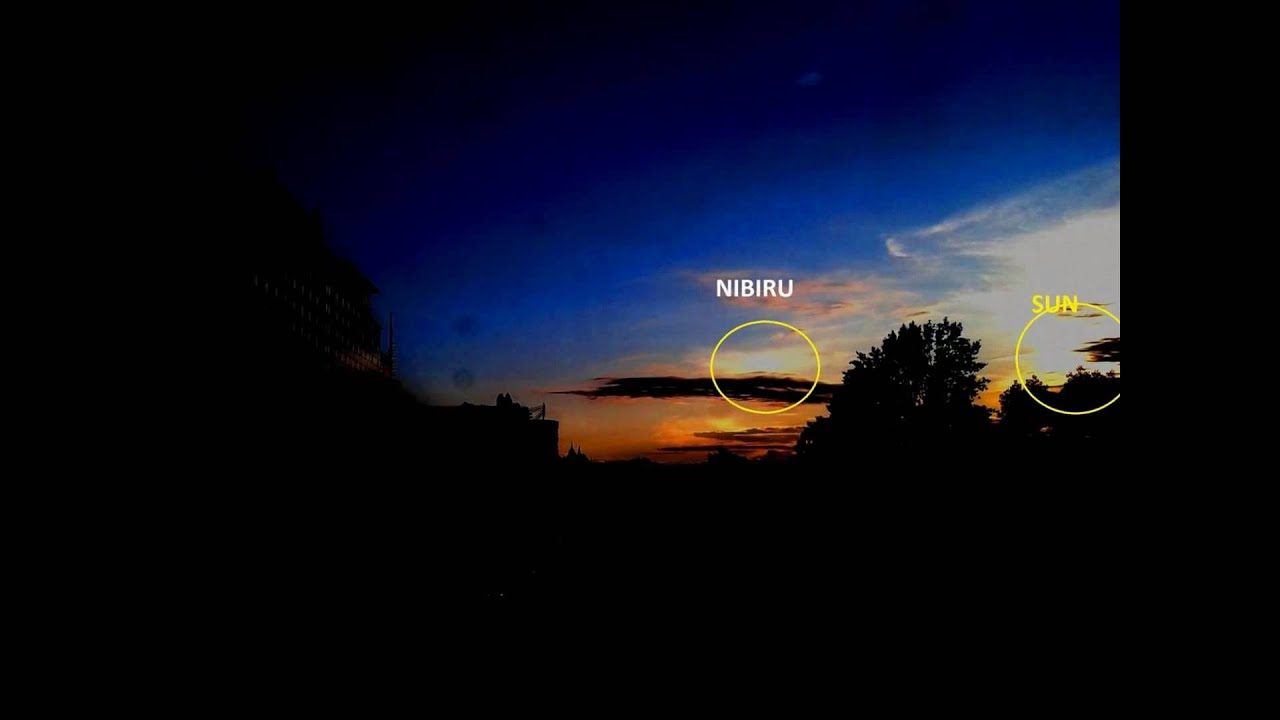 NIBIRU-MARDUK - Planet X -Two Suns in sunset 31.5.2016 ...