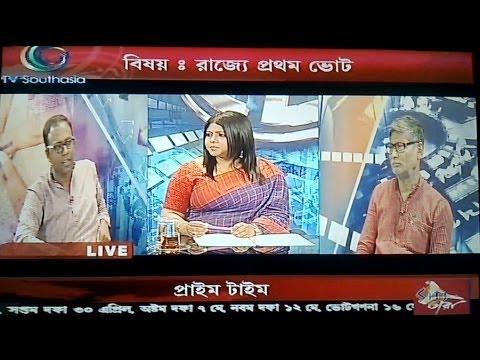 Arup Chakraborty at Tara News,16 April 2014.