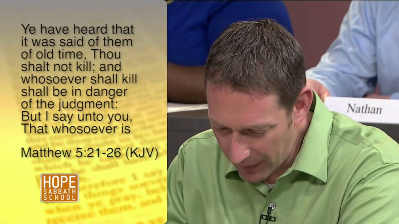Lesson 4 - Christ and the Law in the Sermon on the Mount (2nd Qtr 2014)