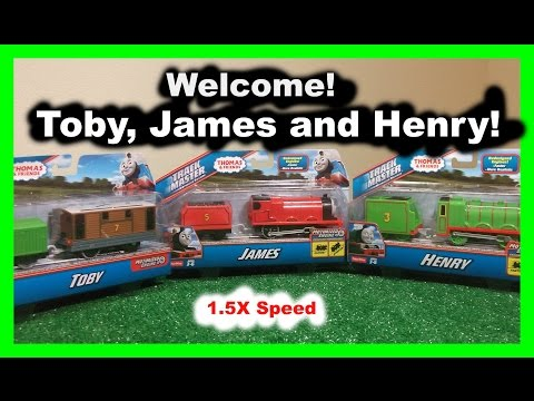 Welcome! Thomas and Friends - Toby, James and Henry - 1.5x speed - helium style