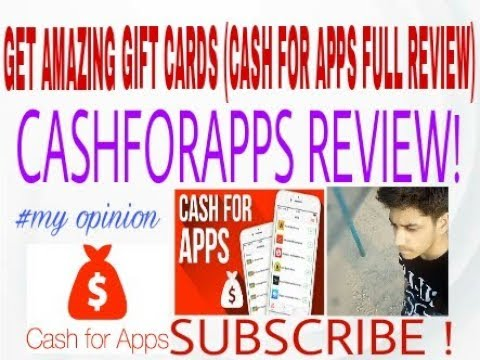 Cashforapps review!(GET FREE GIFTCARDS!) 99999999℅ Work!
