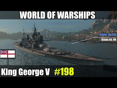 King George V - World of Warships (Wows) - Prezentacja okrętu i gameplay.