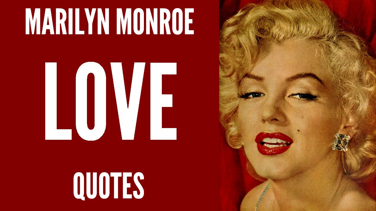 CRAZIEECATLADY: Quotes By Marilyn Monroe :] [: |Marilyn Monroe Quotes And Sayings About Love