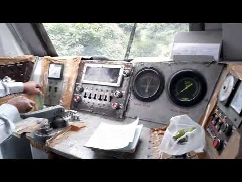 Inside the Engine of Local Train l Indian Railways I Real time driving and control l Locomotive 2018