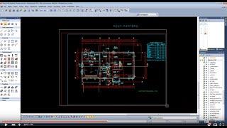EliteCAD 3D BIM - wczytanie podkładu DWG /DXF.