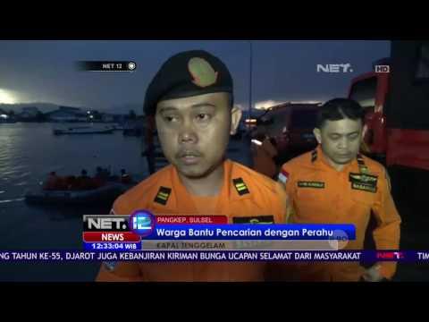 Pencarian 4 Korban Kapal Tenggelam Dilanjutkan - NET 12