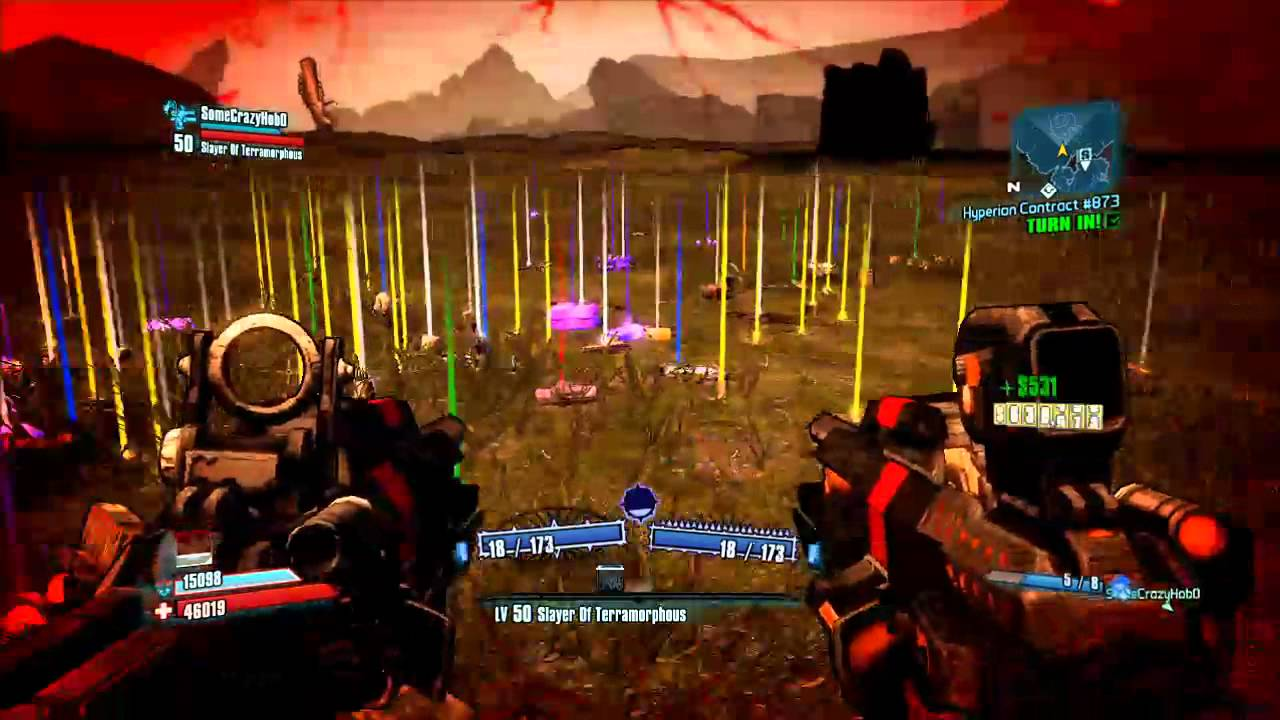 Borderlands 2 - Level 50 Gunzerker