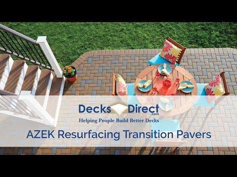 AZEK Resurfacing Transition Pavers
