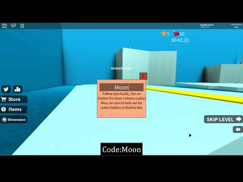 How To Get Moon Dimensions New Code In Speed Run 4 Roblox 2019