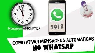 Como Configurar Mensagens Automáticas no Whatsapp  [ANDROID]