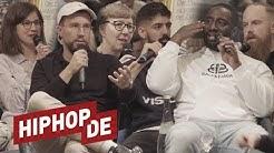 Welche Werte hat Hiphop? Manuellsen, Prinz Pi, Aria & mehr diskutieren (New Fall Forum)
