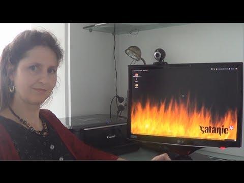 Mum Tries Out Ubuntu Satanic Edition 666.9 (2010)