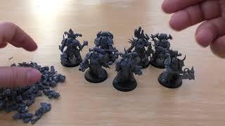 Death Guard - Plague Marines - Review (WH40K)