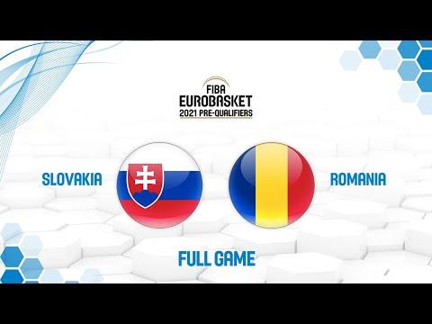Slovakia v Romania - Full Game - FIBA EuroBasket 2021 Pre