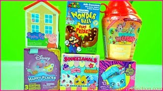 Lodra Surprize Shtepia Peppa Pig Super Mario.Unboxing Toy Surprises Smooshy Mushy Yolo Froyo
