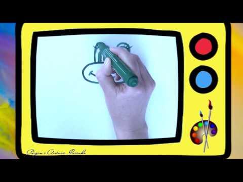 Как нарисовать лягушку. Оживающие рисунки. Наше всё!