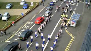 Apprentice Boys of Derry parade Glasgow  23/5/15