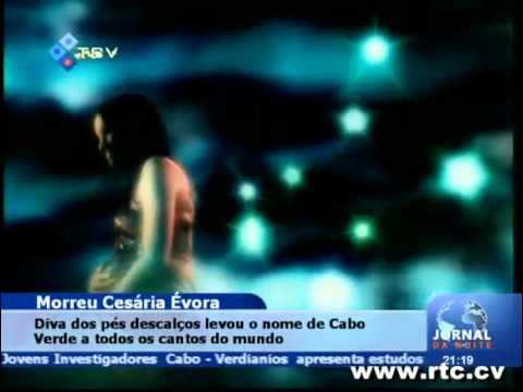 Biografia de Cesária Évora