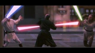 Битвы Star Wars: Оби-Ван & Квай-Гон Джинн vs Дарт Мол